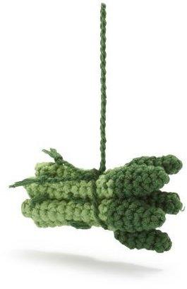 Sur La Table Crochet Asparagus Ornament