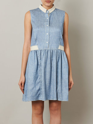 Sea Denim button-up dress