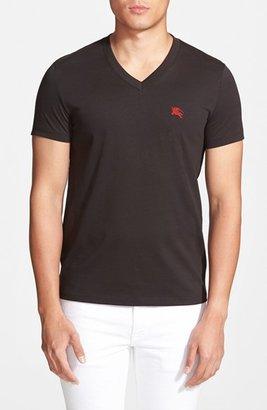 Men's Burberry Brit 'Lindon' V-Neck Cotton T-Shirt $105 thestylecure.com