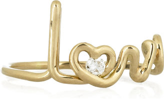 Solange Azagury-Partridge Love 18-karat gold diamond ring