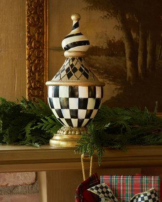 Mackenzie Childs MacKenzie-Childs Tuxedo Christmas Stocking Hook