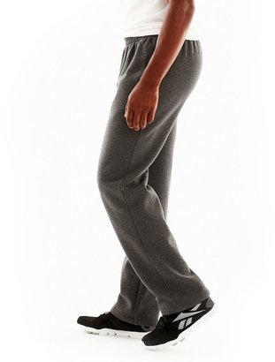 JCPenney Xersion Open-Bottom Fleece Pants