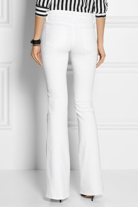 Le Skinny Flare mid-rise jeans