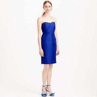 Alexia dress in slub silk $250 thestylecure.com