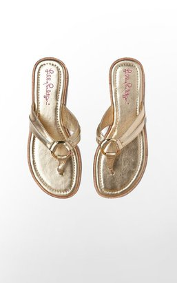 Lilly Pulitzer Mckim Sandal Padded Footbed