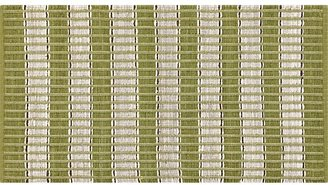 "Crate & Barrel Kurt Green 30""x50"" Rug"