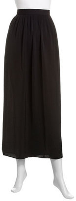 Laundry by Shelli Segal Pleated Maxi Skirt