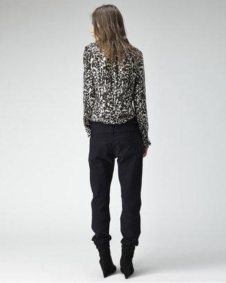Isabel Marant moriah long sleeve shirt
