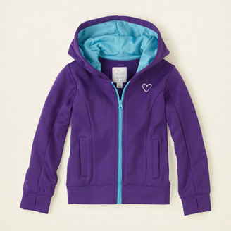 Children's Place Performance active hoodie jacket