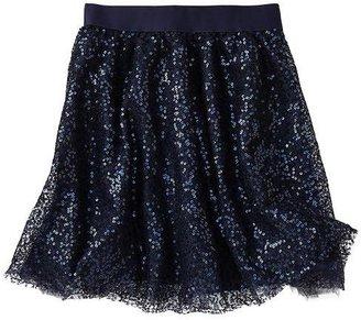 Gap Sequin tulle skirt