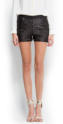 MANGO Sequins shorts