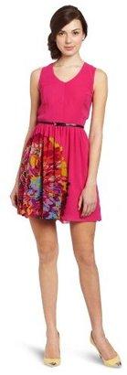 Kensie Women's Multi Color Floral Dress