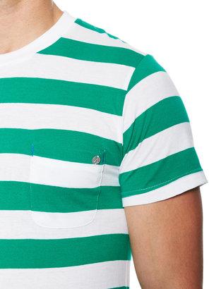 Eleven Paris Bastrip Striped Crewneck T-Shirt