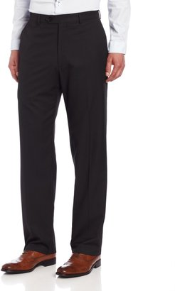Haggar Men's Big-Tall Big and Tall Multi Bead Stripe Plain Front Suit Separate Pant