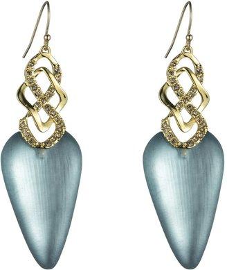 Alexis Bittar Mod Gold Infinity Earrings