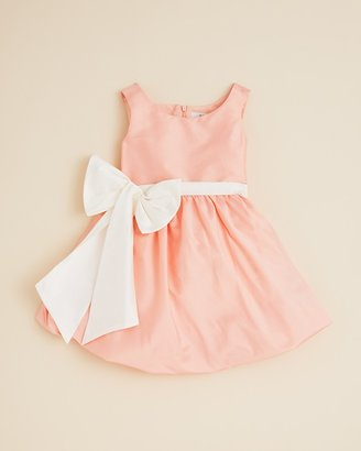 Us Angels Toddler Girls' Oversized Bow Bubble Dress - Sizes 2T-4T