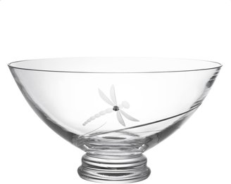Dartington Crystal Dragonfly Bowl