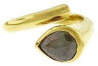 Jennifer Meyer Rough Cut Diamond Ring in Yellow Gold