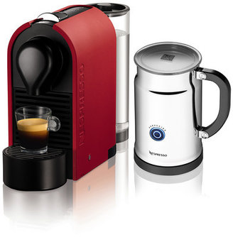 Nespresso U Bundle Pure Matte Red