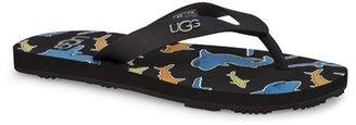 UGG Kid's Jacksen Flip Flop - Black