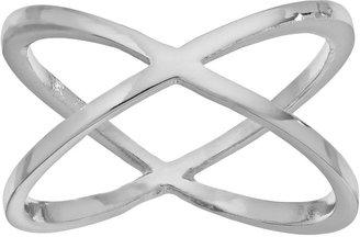 LC Lauren Conrad Crisscross Ring $12 thestylecure.com