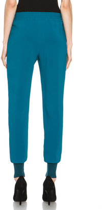Stella McCartney Track Pants in Feather Blue