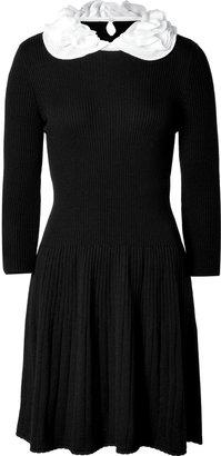 Moschino Wool Dress in Black