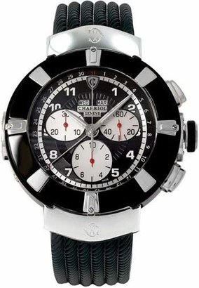 Charriol Celtica Black Dial Chronograph Men's Watch