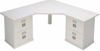Pottery Barn Bedford 4-Drawer Corner Desk