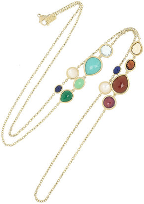 Ippolita Gelato 18-karat gold multi-stone necklace