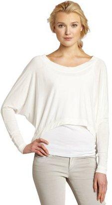 David Lerner Women's Long Sleeve Cropped Tee