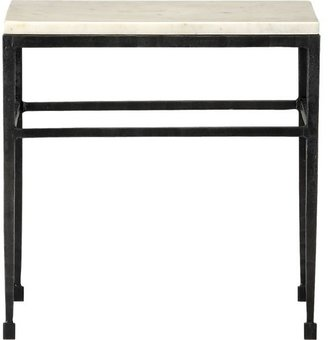 Crate & Barrel Bastille Side Table.