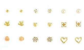 Charlotte Russe Flirty Essentials Earring Set