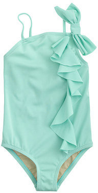 J.Crew Girls' ruffle bow tank