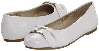 Pazitos Bella Mia BF (Toddler/Youth) (White PU) - Footwear