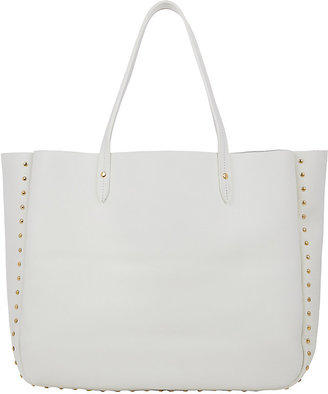 Barneys New York Women's Studded Shopper Tote $375 thestylecure.com