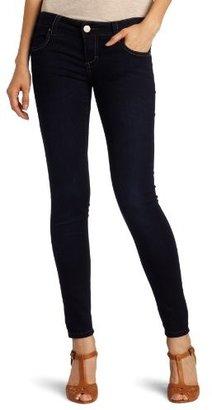 See Thru Soul Juniors Pieced Pocket Skinny Jean