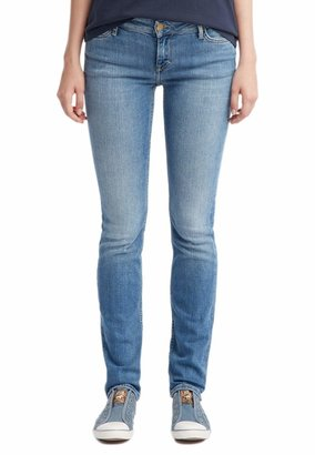 Mustang Women's Skinny Fit Jeans - Blue - Blau (brushed bleached 512) - 29/32 (Brand size: 29/32)