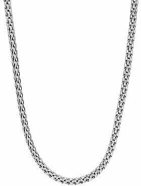 """John Hardy Classic Chain Sterling Silver Slim Necklace/16"""""""
