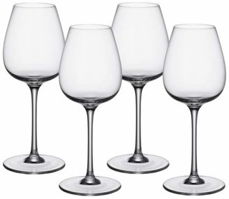 Villeroy & Boch Purismo Red Wine Intricate & Delicate Glass, Set of 4