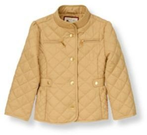 Janie and Jack Quilted Riding Jacket
