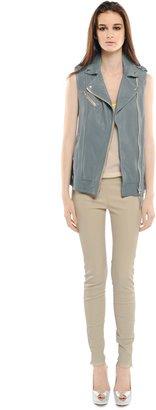 Mackage Frederica Leather Sleeveless Vest