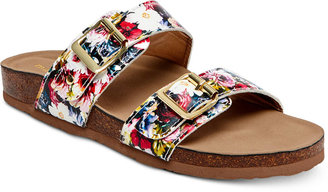 Madden Girl Brando Footbed Sandals Women's Shoes $49 thestylecure.com