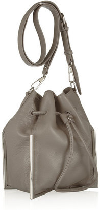 3.1 Phillip Lim Scout textured-leather drawstring bag