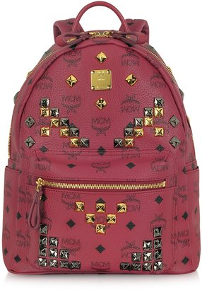 MCM Stark Small Studded Backpack