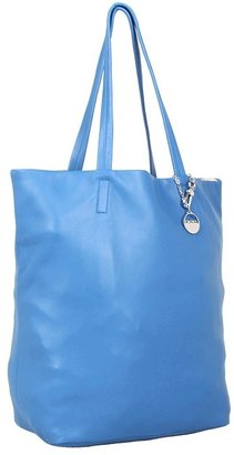 DKNY Pure NS Tote (Blue) - Bags and Luggage