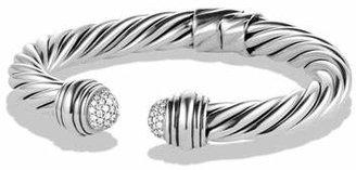 David Yurman Cable Classics Pavé Tip Bracelet with Diamonds