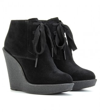 Burberry EVELINE WEDGE ANKLE BOOTS