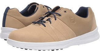 Foot Joy FootJoy Contour Casual (Taupe) Men's Golf Shoes