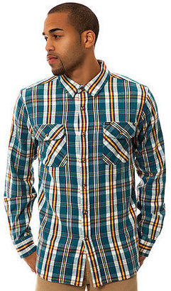 Obey The Clifton Buttondown in Ink Blue
